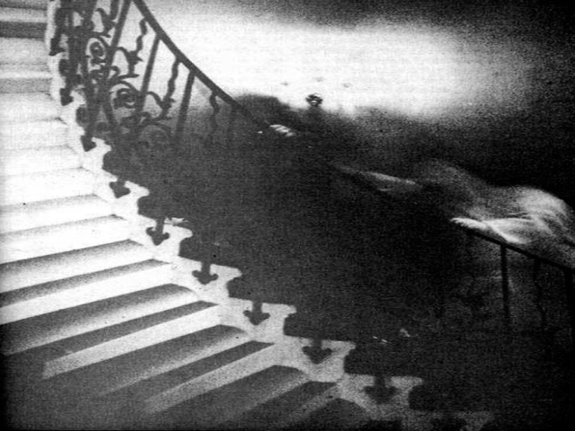 Creepy Ghost in the stairs