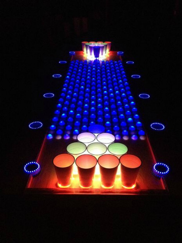 Glowing Beer Pong