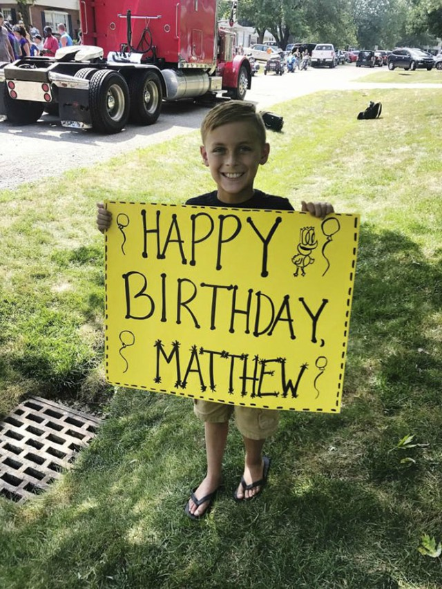 Matthew's Big Day