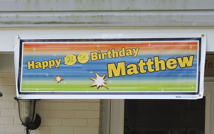 Tarp for Matthew