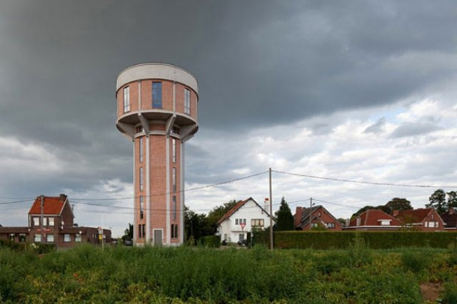 Water Tower House Conversion