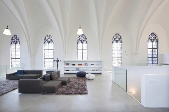 Church Converted Into Family Home