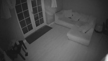 Ghost Floats Through Family Home