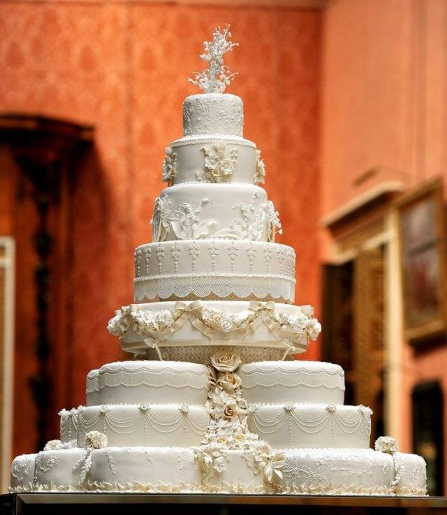 A Slice Of The Royal Wedding Cake