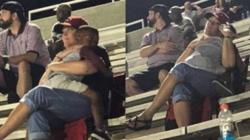 Boy Shares Heartwarming Hug with Stranger
