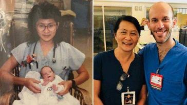 Nurse Reunited with NICU Baby