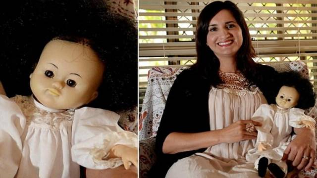 Creepy Doll Left Hidden in Closet
