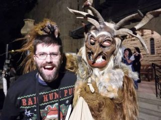 Austrians dress up as Krampus
