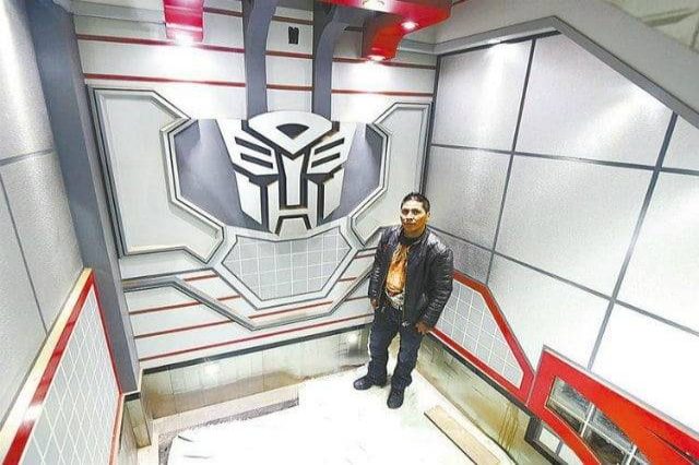 Interior of Transformers Designed House