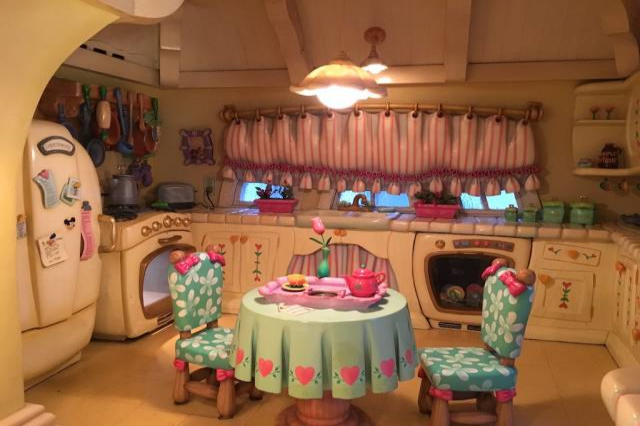 Minnie Mouse House Interior