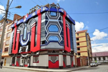 Real-Life Transformer Inspired House