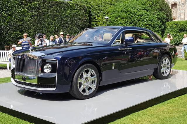 Rolls Royce Sweptails (2017)