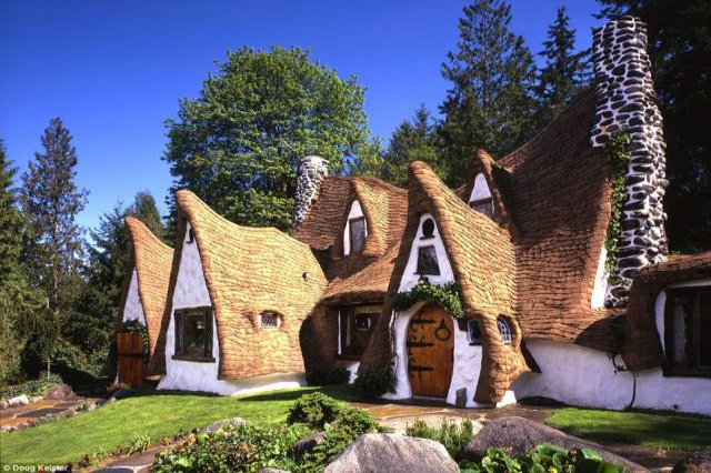 Snow White Real-Life House
