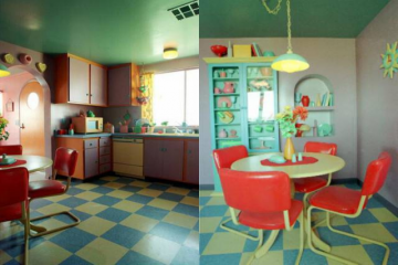 The Simpsons House Interior