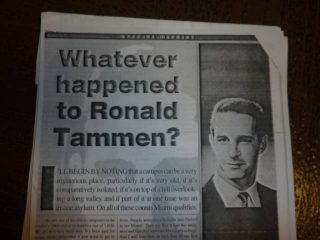 Ronald Tammen disappearance